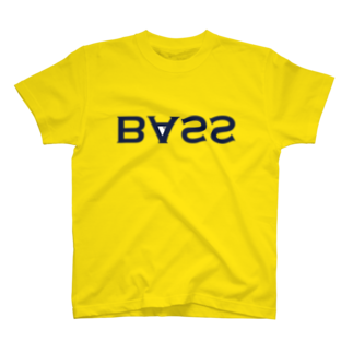 2753GRAPHICSのURAME BASS TEE(ネイビーロゴ) T-shirts