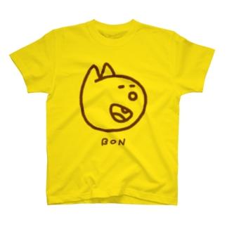 にっこりボンくん(茶色) T-shirts