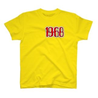 【1968】 全23色 T-shirts