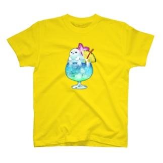 トロピカルアザラシTシャツ T-shirts
