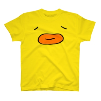 ひよこどんフェイス T-shirts