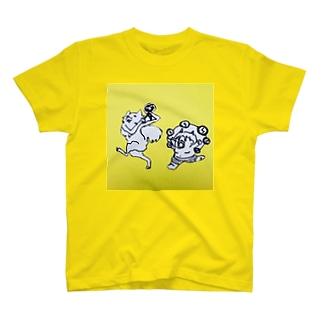 キツネと鬼 T-shirts