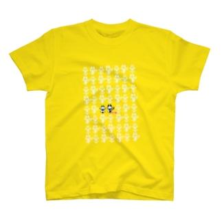 へそまがりト[TRANSPARENT] T-shirts