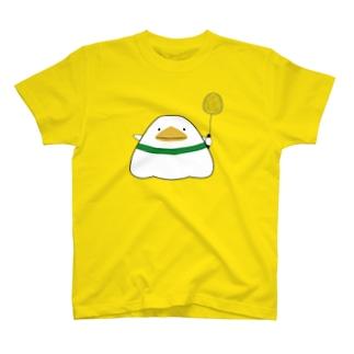 しゃとり ラケット 左手 T-shirts