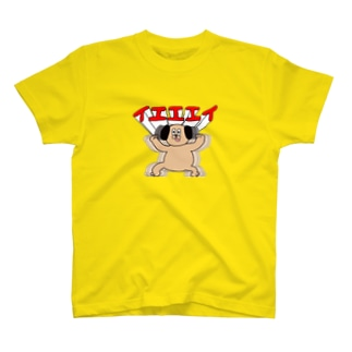うざいぬハイテンション T-shirts
