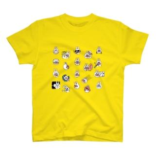 うさぎのササキづくし T-shirts