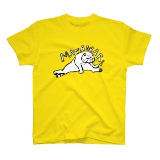 股割りマルティ透過やや大きい柄!! T-shirts