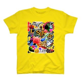 くりぷ豚ステッカー風 T-shirts