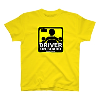 DRIVER ON BOARD T-shirts