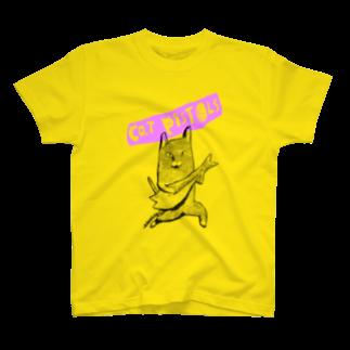 ねこのTシャツやさんのCAT PISTOLS 1 T-shirts