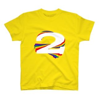 Rainbow2_round Tシャツ