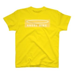ANGEL RING 黄 T-shirts