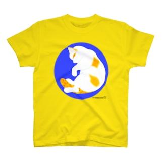 「だっこねこ 縦ポーズ」 T-shirts