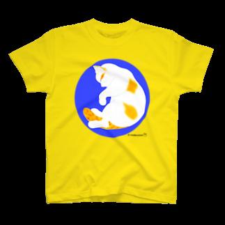 mederuman   めでるまんの「だっこねこ 縦ポーズ」 T-shirts
