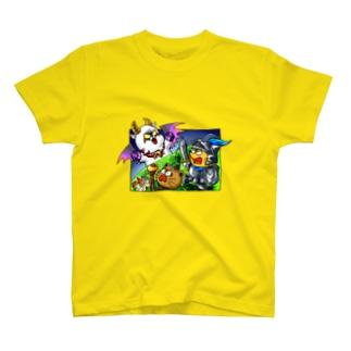 ポンポコクエスト T-shirts