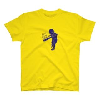 SSCっぽいLet's Enjoy Softball! バッティング T-shirts