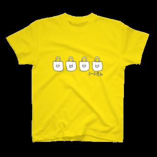 たまご食パンのトートさん T-shirts