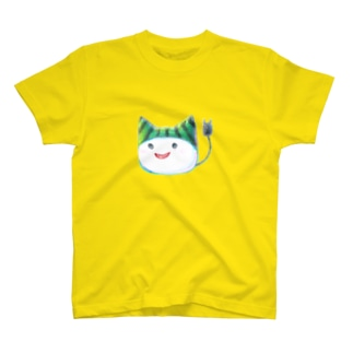 スイカ帽子ねこさん T-shirts