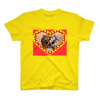 逆さニャンコ(キッシュ) T-shirts