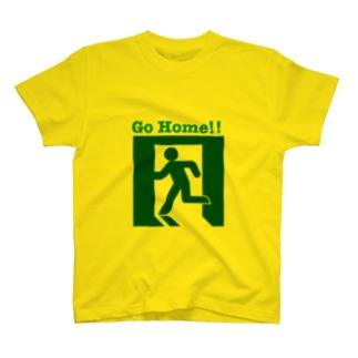 帰りたい T-shirts
