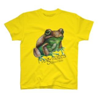 カエルメイトより「キウイガエル」 T-shirts