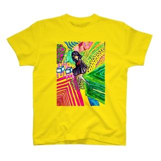イエローJK T-shirts