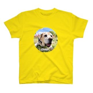 イエローラブ ジョニーくん T-shirts
