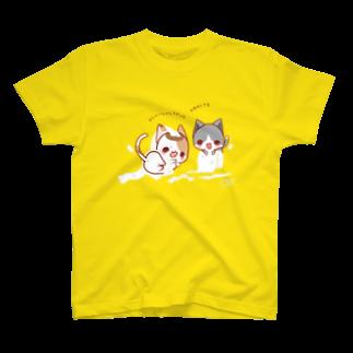 aska/ねこのかんづめのいたずらっこ T-shirts