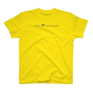 しまのなかまSLOW シロハラクイナ T-shirts