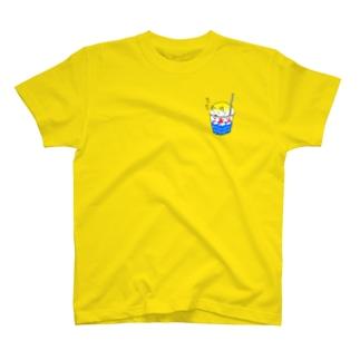 ポメこおり(レモン味) T-shirts
