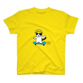 スケボーキャット(猫) T-shirts