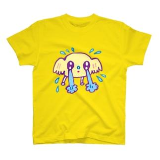 泣くわんチャン T-shirts