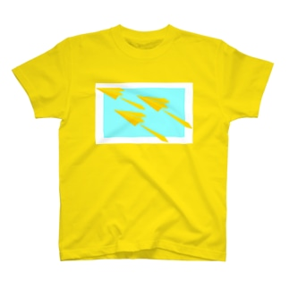 紙ひこうき T-shirts