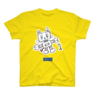 まゆん:ロボキャット T-shirts