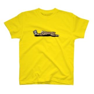 本と、なまけもの T-shirts