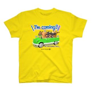 「すぐいく!」〜制限速度で〜 ダックスフレンズ T-shirts