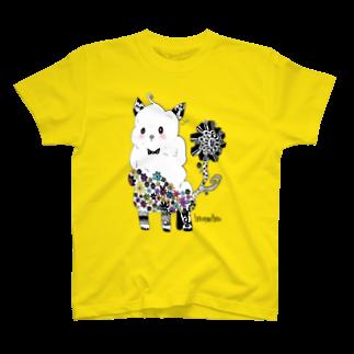 色音色のTシャツ屋さんのアルパカ T-shirts