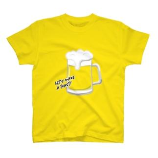 世界のみんなと「カンパイ!」しようTシャツ  T-shirts