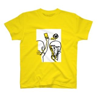 2枚目のイエロー T-shirts