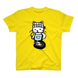 めだまやきやくねこ T-shirts
