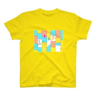 あみだくじ梯子 T-shirts