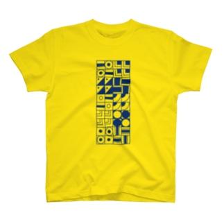 四角 パターン T-shirts