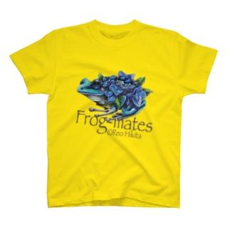 カエルメイトより「アジサイガエル」 T-shirts