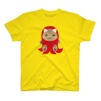 株式会社猫 まじお店長お弁当シリーズ ウィンナーver T-shirts