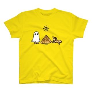 エジプトの神様★メジェドさまとスフィンクス T-shirts