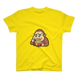 ゴリラーメン T-shirts
