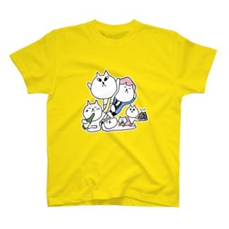 宇出津ねこ〜あばれ祭り〜 T-shirts