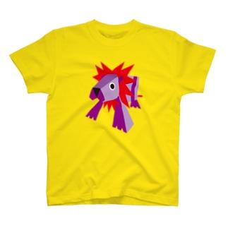牛乳パックのライオン T-shirts