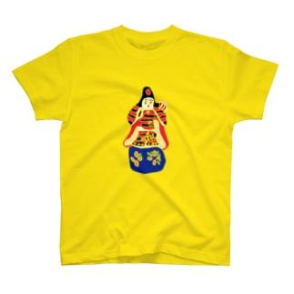 帖佐人形 神功皇后 T-shirts