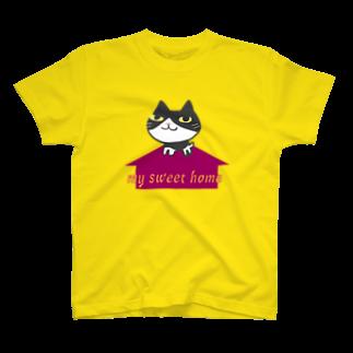 あがや! (ぱんだろう工房)のイリオモテイエネコ T-shirts